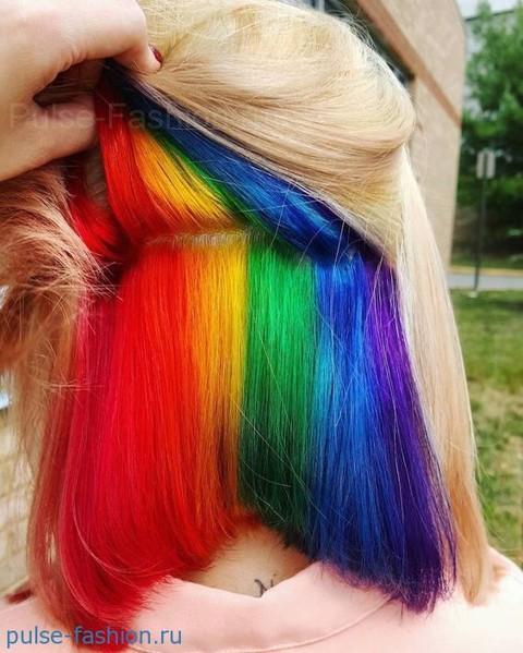 Модное окрашивание волос 2017 фото