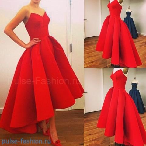 платья на выпускной 2018