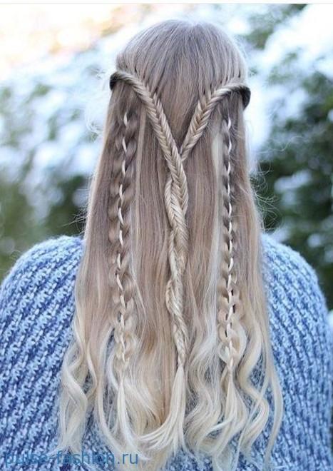 Красивая коса фото