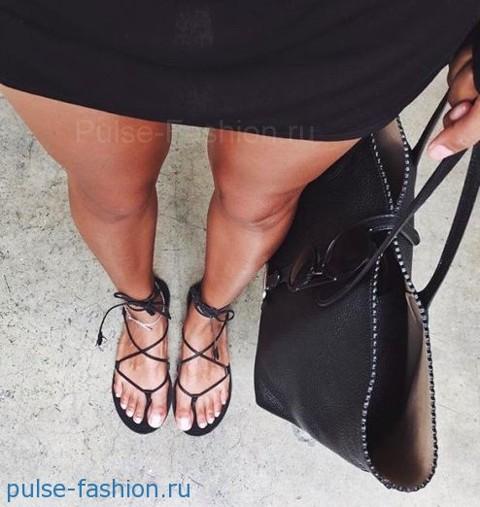 модная обувь лето 2018 сандалии