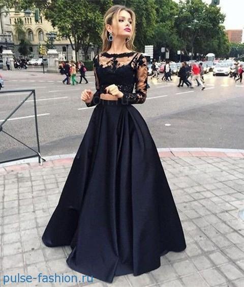 пышные платья на выпускной 2018