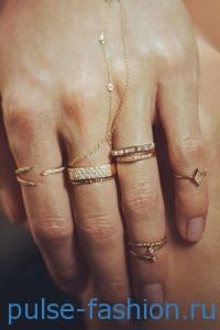 модные кольца 2020