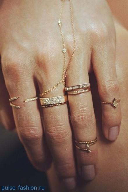 модные кольца 2019