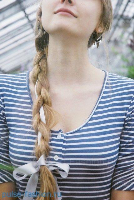 Классическая коса фото