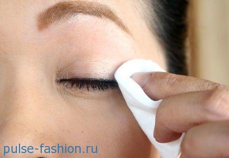 Снятие макияжа фото