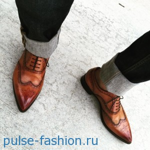 Модная мужская обувь 2019