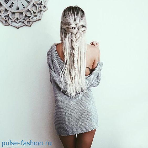 причёски из косичек