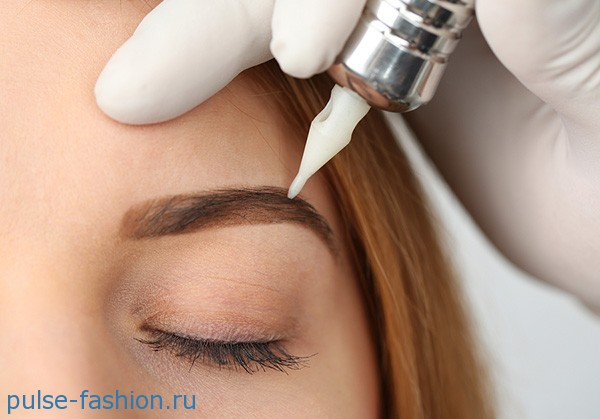 татуаж бровей /Eyebrow tattoo
