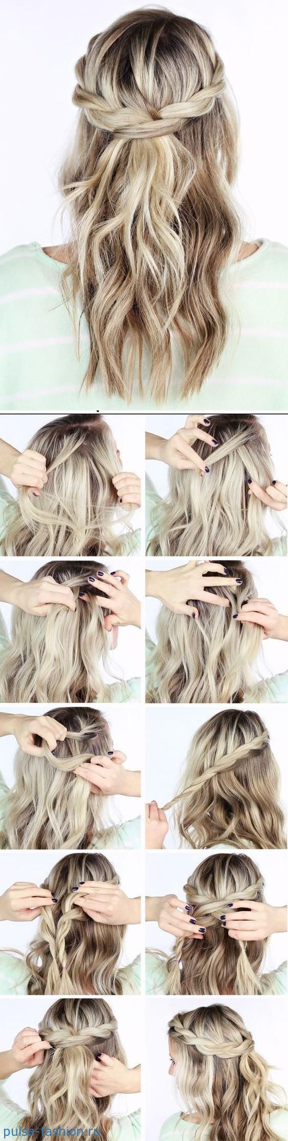Прически с распущенными волосами фото и видео - Мой секрет 88