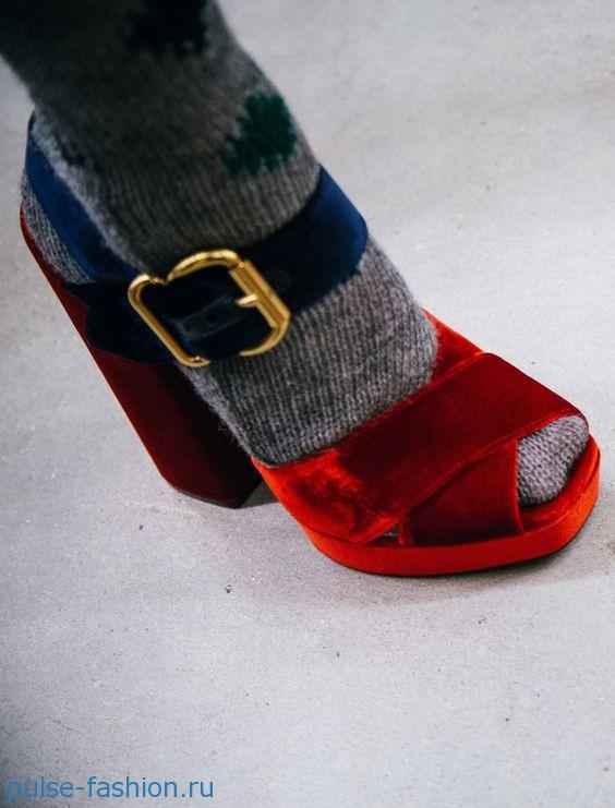 модная обувь сезона осень-зима 2017/2018
