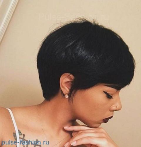 модные стрижки для коротких волос 2018