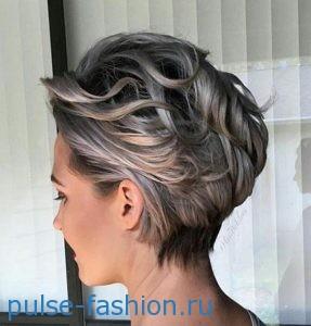стрижки для коротких вьющихся волос 2019