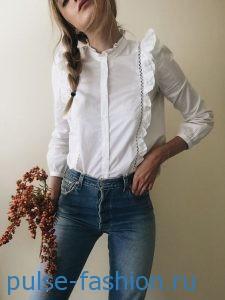 Блуза-рубашка 2017
