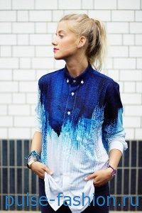 Блуза-рубашка 2017 фото