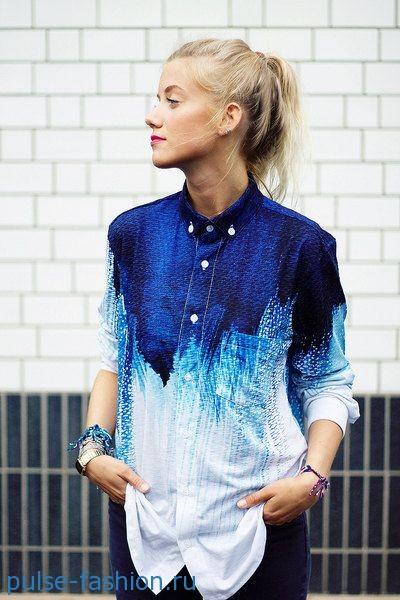 Блуза-рубашка 2019 фото