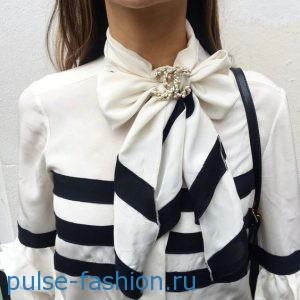 Блузы с бантом 2017 фото