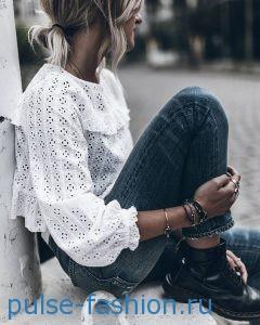 Кружевные блузы 2017 фото