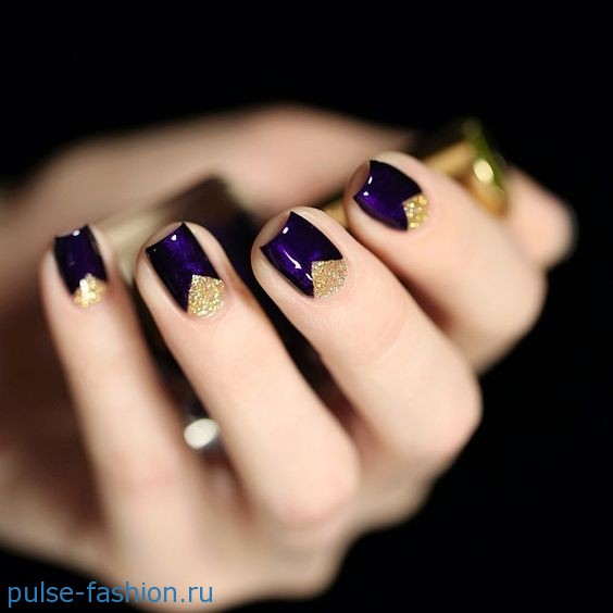 Красивый маникюр на короткие ногти - фотографии: