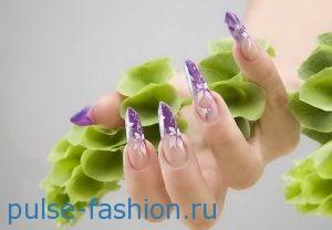 Красивые и стильные рисунки на ногтях - фото