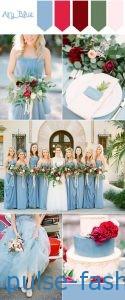 """Модный цвет 2017 - Airy Blue """"Голубое и ясное небо"""""""