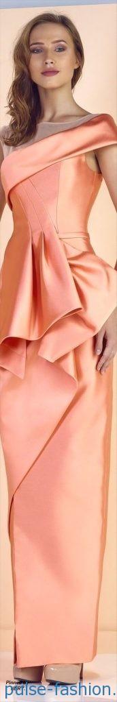 Модные атласные платья весна-лето 2018