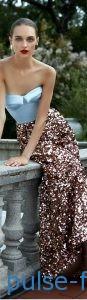 Модные платья в стиле милитари весна-лето 2019 Модные платья бюстье 2019