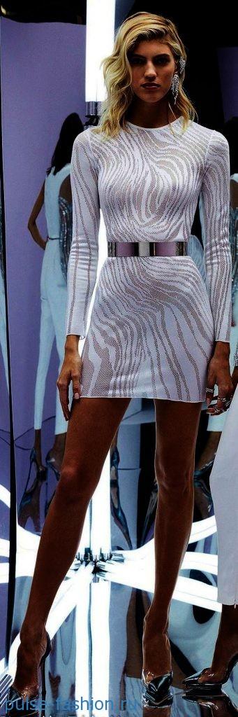 Модные клубные платья 2018