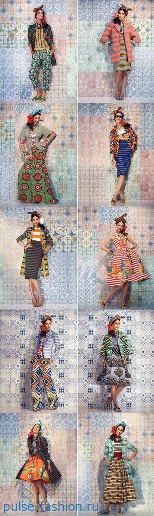 Модные платья в этностиле 2017