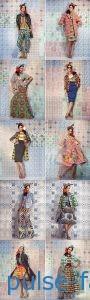 Модные платья в этностиле 2018