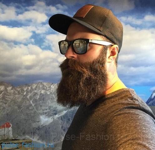 Стильная и модная полная (или русская) мужская борода 2021 Модная мужская борода 2021