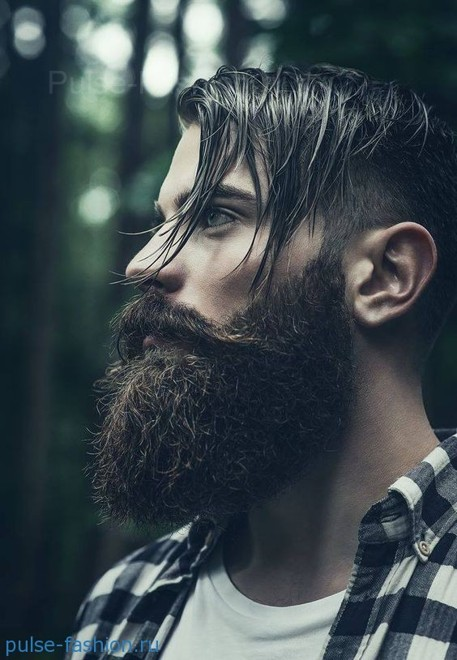 Модная мужская борода 2021