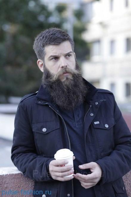 Стильная и модная полная (или русская) мужская борода  Модная мужская борода 2021