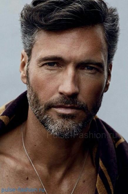 Стильная и модная мужская щетина 2021 Модная мужская борода 2021