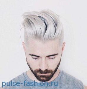 Стильная и модная мужская щетина 2017 Модный цвет волос для мужчин фото 2017