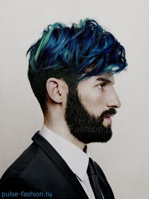 Модный цвет волос для мужчин фото 2021