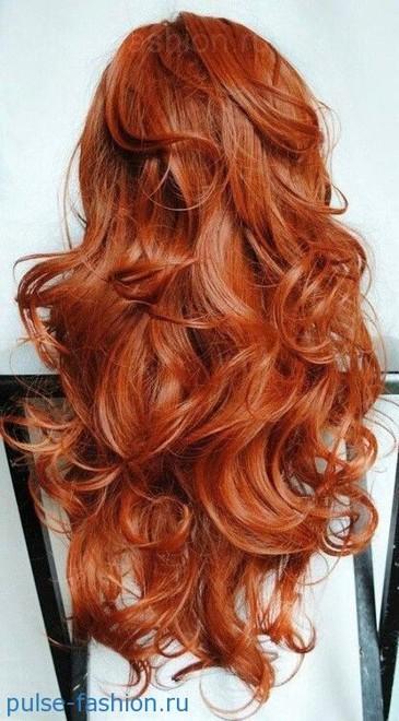 Красно-золотой оттенок и рыжеватый оттенок волос 2020