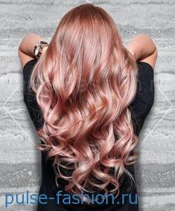 Модный цвет волос 2017