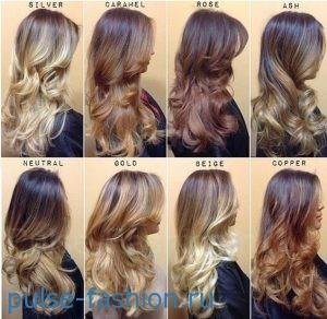 Модный цвет волос 2020