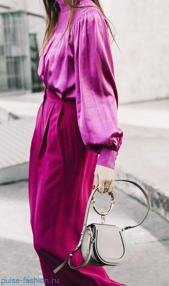 Все оттенки розового популярные в 2019 году.