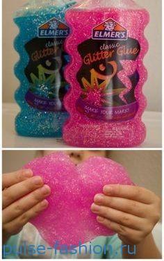 В подарок ребенку можно купить лизуны или слайм (slime).
