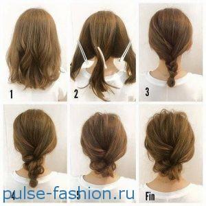 стрижки для волос средней длины