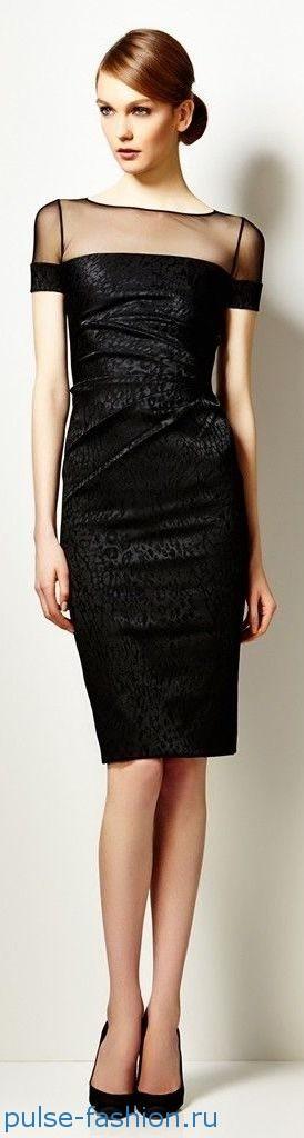Модные и красивые деловые офисные платья 2019