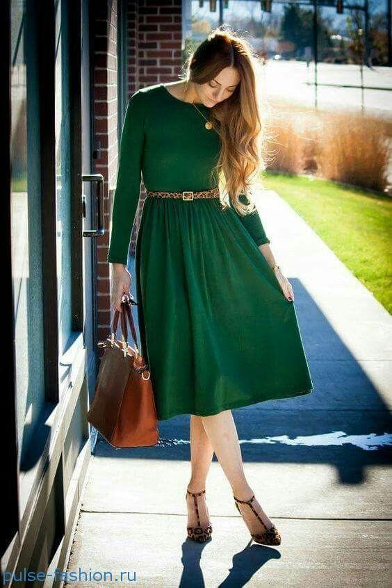 Фотографии стильных, элегантных и модных платье 2018 года