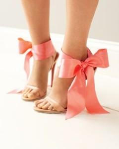 Нежные Туфли с бантами фото