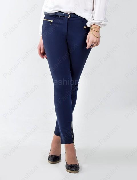 голубые штаны дамские