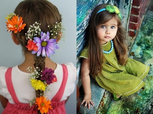 детские торжественные прически для девчонок