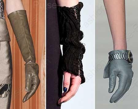 дамские перчатки осень-зима 2019