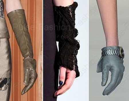 Трендовые перчатки осень-зима 2019