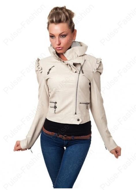 Кожаные женские куртки 2019