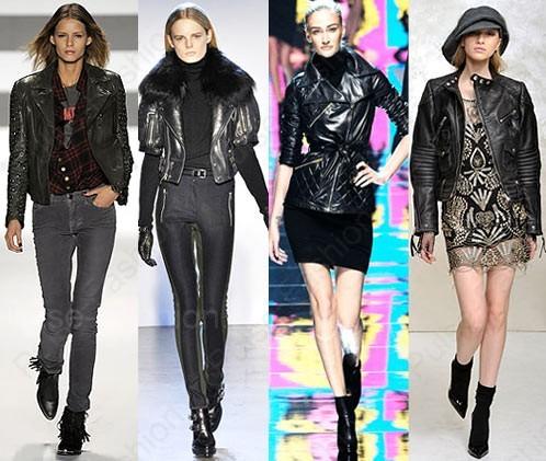 Кожаные женские куртки 2020
